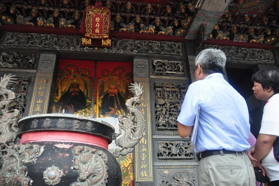 東石徐府廟