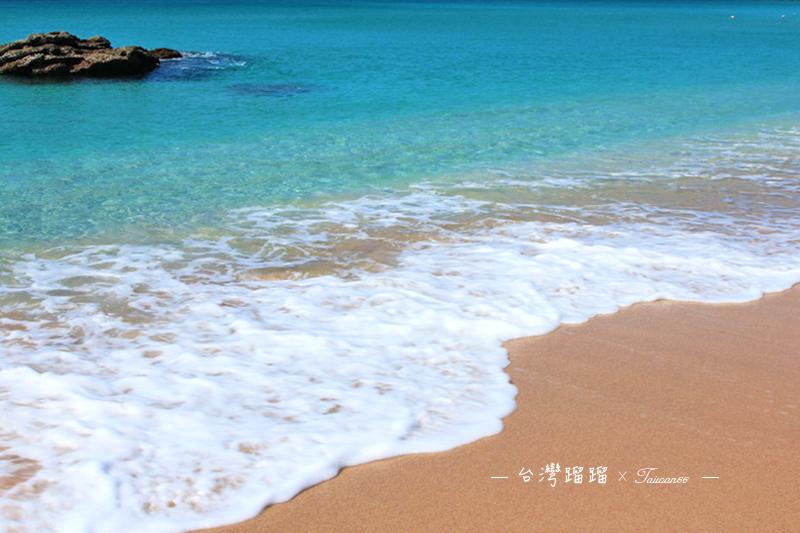 【白沙灣】悠閒的午後,讓這細白的沙捲過腳下